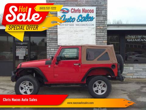 2009 Jeep Wrangler for sale at Chris Nacos Auto Sales in Derry NH