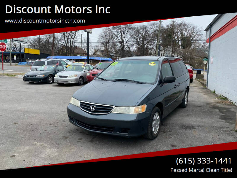 2003 Honda Odyssey for sale at Discount Motors Inc in Nashville TN