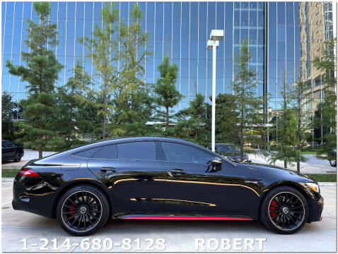 2020 Mercedes-Benz AMG GT for sale at Mr. Old Car in Dallas TX