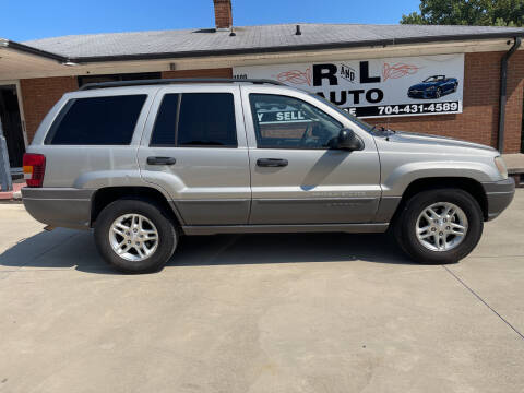 2003 Jeep Grand Cherokee for sale at R & L Autos in Salisbury NC