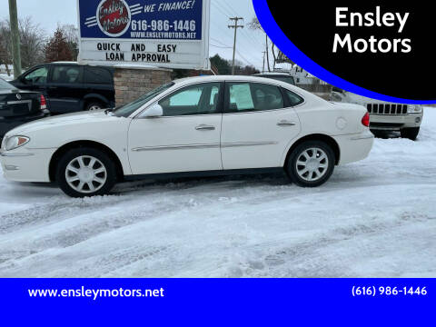 2008 Buick LaCrosse for sale at Ensley Motors in Allendale MI