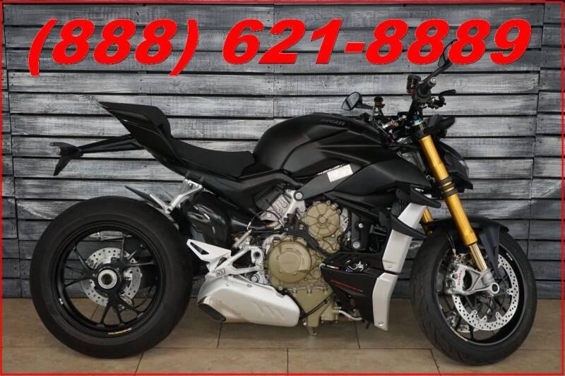2021 Ducati Streetfighter V4 S for sale at AZautorv.com in Mesa AZ
