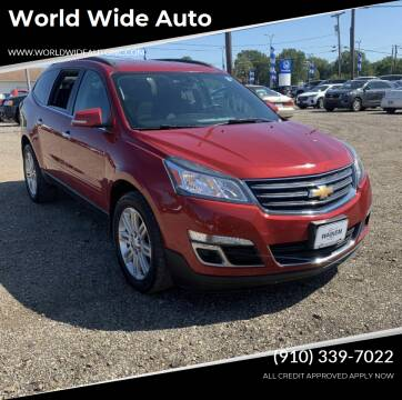 2013 Chevrolet Traverse for sale at World Wide Auto in Fayetteville NC