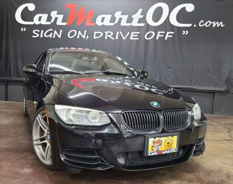 2012 BMW 3 Series for sale at CarMart OC in Costa Mesa CA