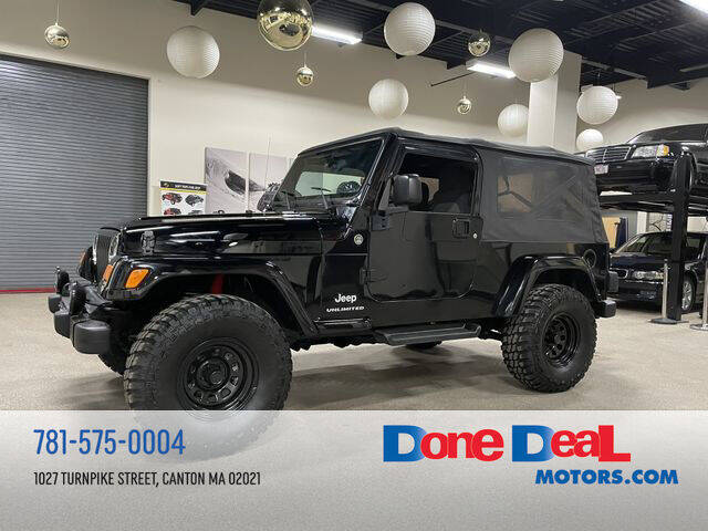 2006 Jeep Wrangler for sale at DONE DEAL MOTORS in Canton MA