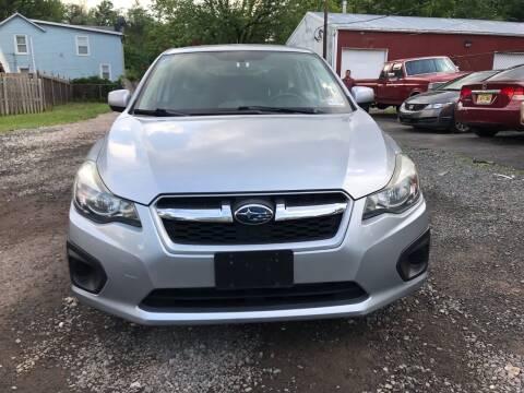 2012 Subaru Impreza for sale at Nex Gen Autos in Dunellen NJ