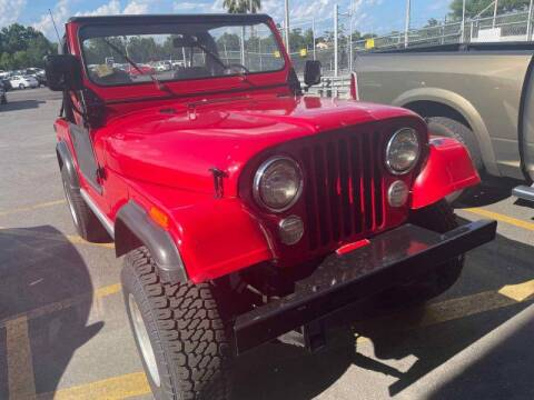 1977 Jeep CJ-7 for sale at Gulf South Automotive in Pensacola FL