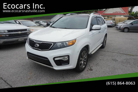 2012 Kia Sorento for sale at Ecocars Inc. in Nashville TN
