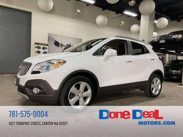 2016 Buick Encore for sale at DONE DEAL MOTORS in Canton MA