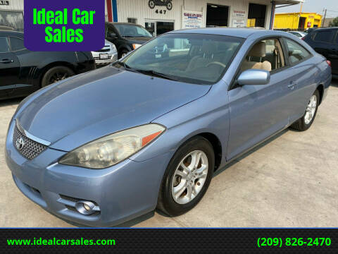 2008 Toyota Camry Solara for sale at Ideal Car Sales in Los Banos CA