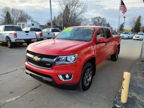 2017 Chevrolet Colorado for sale at Clare Auto Sales, Inc. in Clare MI