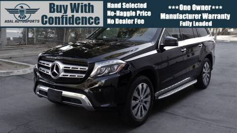 2018 Mercedes-Benz GLS for sale at ASAL AUTOSPORTS in Corona CA