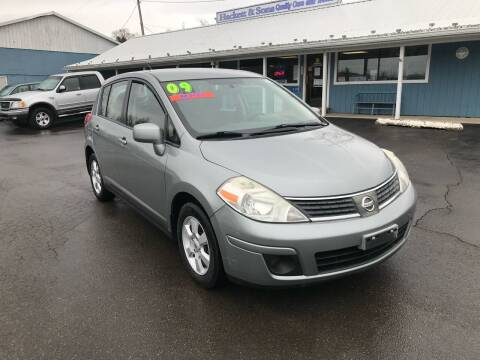 2009 Nissan Versa for sale at HACKETT & SONS LLC in Nelson PA
