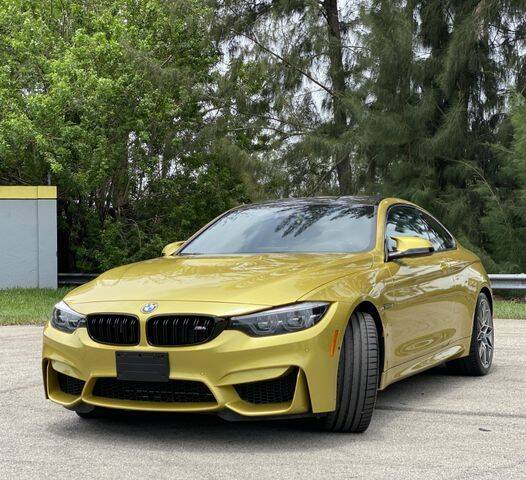 2018 BMW M4 for sale at Exclusive Impex Inc in Davie FL