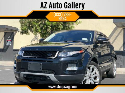 2012 Land Rover Range Rover Evoque Coupe for sale at AZ Auto Gallery in Mesa AZ