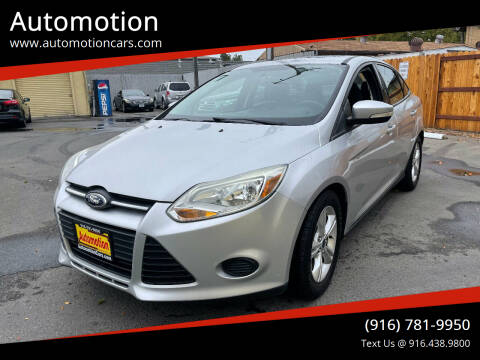 2014 Ford Focus for sale at Automotion in Roseville CA