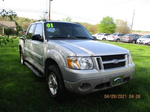 2001 Ford Explorer Sport Trac for sale at Euro Asian Cars in Knoxville TN