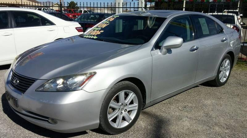 2007 Lexus ES 350 for sale at 4 U MOTORS in El Paso TX