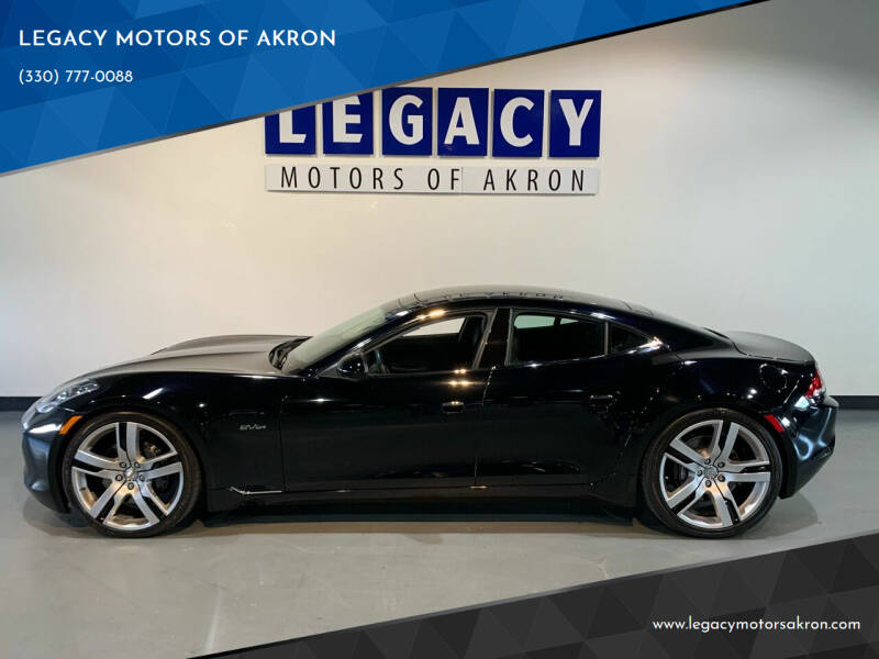 2012 Fisker Karma for sale at LEGACY MOTORS OF AKRON in Akron OH