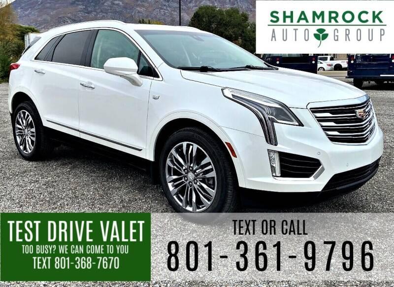2017 Cadillac XT5 for sale at Shamrock Group LLC #1 in Pleasant Grove UT