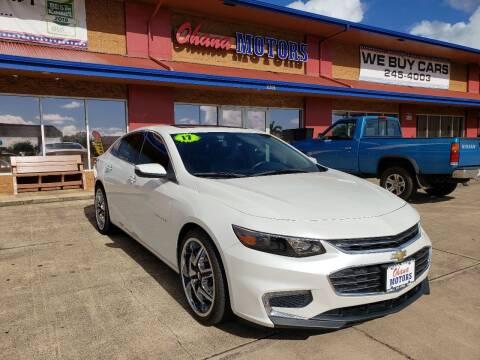 2017 Chevrolet Malibu for sale at Ohana Motors in Lihue HI