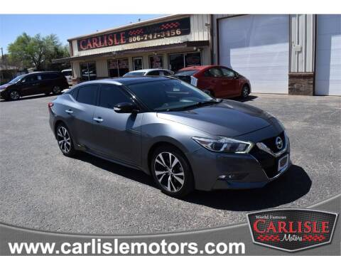 2018 Nissan Maxima for sale at Carlisle Motors in Lubbock TX