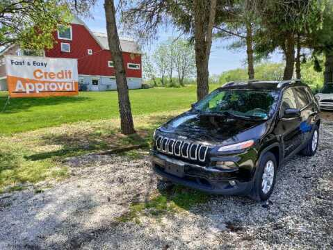2017 Jeep Cherokee for sale at Caulfields Family Auto Sales in Bath PA