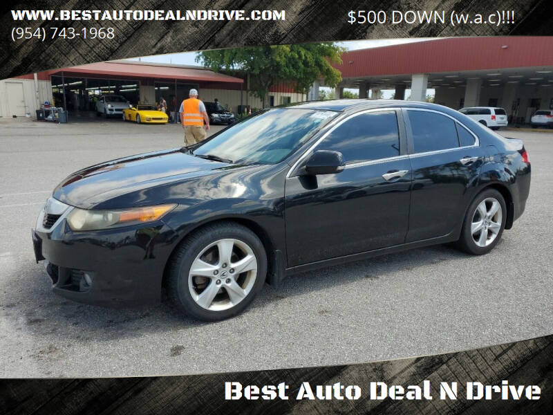 2010 Acura TSX for sale at Best Auto Deal N Drive in Hollywood FL