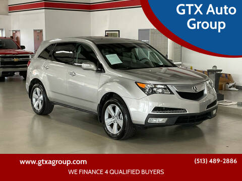 2010 Acura MDX for sale at GTX Auto Group in West Chester OH