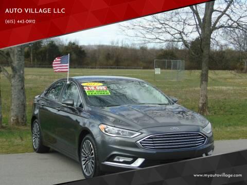 2017 Ford Fusion for sale at AUTO VILLAGE LLC in Lebanon TN
