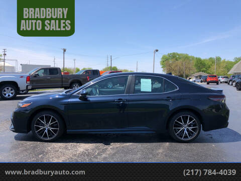 2021 Toyota Camry for sale at BRADBURY AUTO SALES in Gibson City IL
