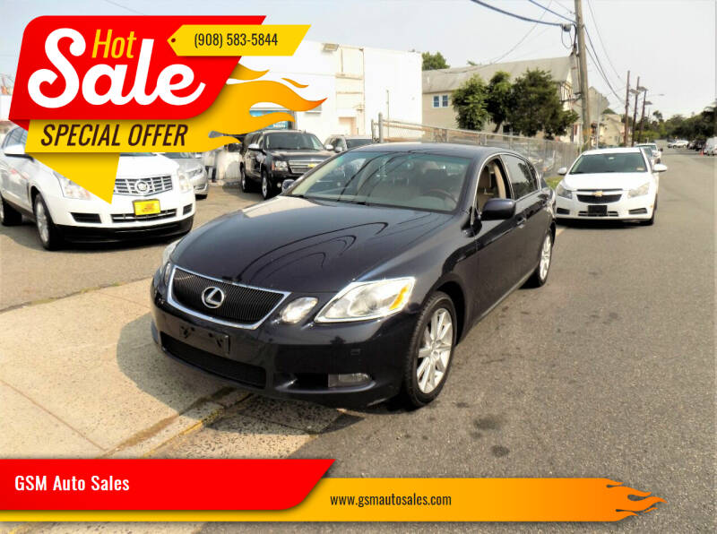 2007 Lexus GS 350 for sale at GSM Auto Sales in Linden NJ