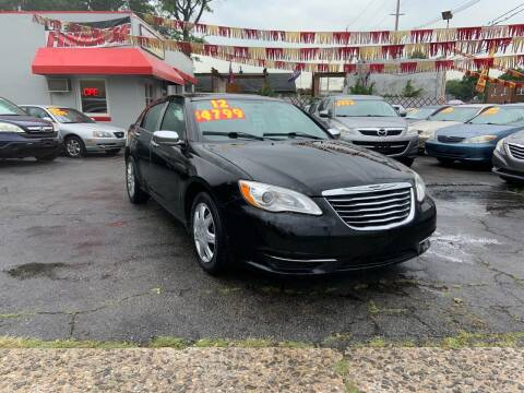 2012 Chrysler 200 for sale at Metro Auto Exchange 2 in Linden NJ