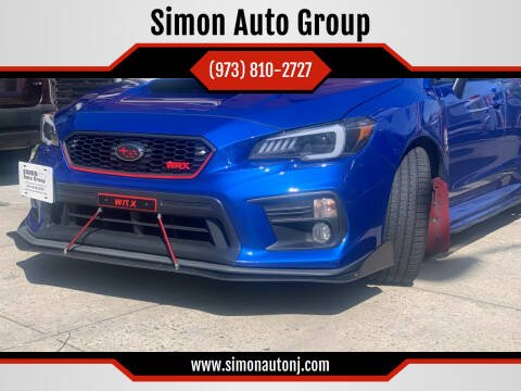 2018 Subaru WRX for sale at Simon Auto Group in Newark NJ