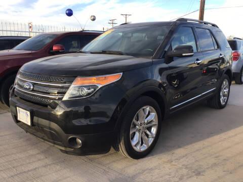 2013 Ford Explorer for sale at Hugo Motors INC in El Paso TX