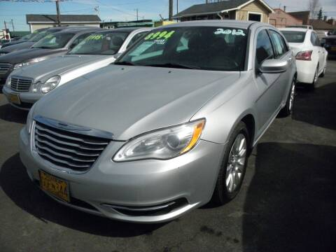2012 Chrysler 200 for sale at ALASKA PROFESSIONAL AUTO in Anchorage AK