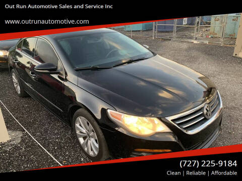 2009 Volkswagen CC for sale at Out Run Automotive Sales and Service Inc in Tampa FL