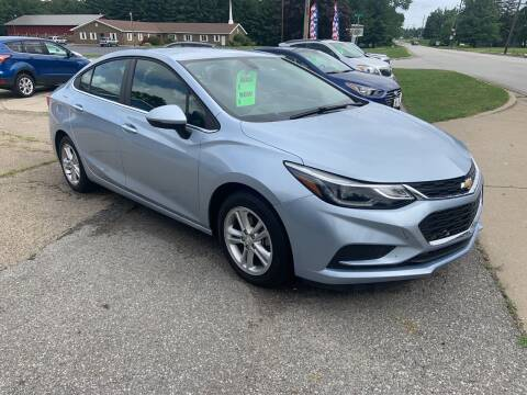 2018 Chevrolet Cruze for sale at GENE AND TONYS DEMOTTE AUTO SALES in Demotte IN