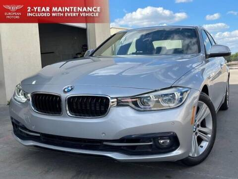 2017 BMW 3 Series for sale at European Motors Inc in Plano TX