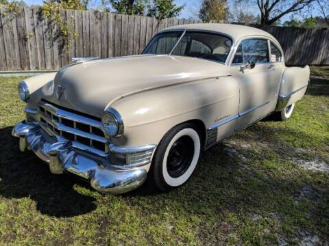 1949 Cadillac Series 62 for sale at Classic Car Deals in Cadillac MI