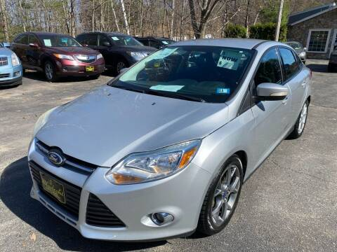 2014 Ford Focus for sale at Bladecki Auto in Belmont NH