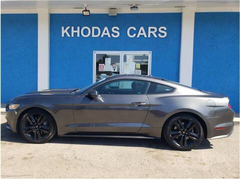 2017 Ford Mustang for sale at Khodas Cars in Gilroy CA