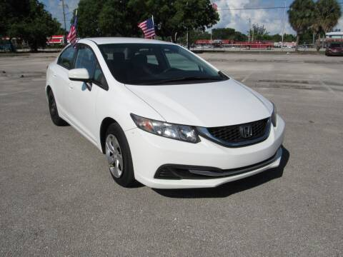 2015 Honda Civic for sale at United Auto Center in Davie FL
