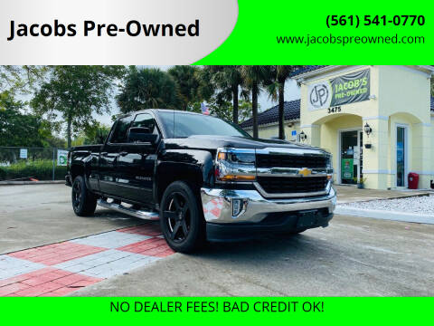 2018 Chevrolet Silverado 1500 for sale at Jacobs Pre-Owned in Lake Worth FL