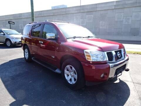 2005 Nissan Armada for sale at DONNY MILLS AUTO SALES in Largo FL
