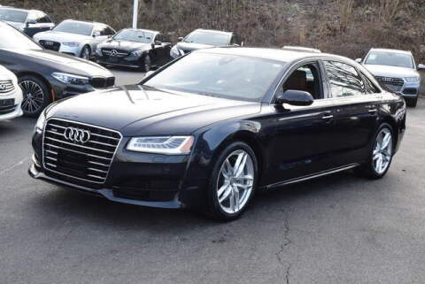 2017 Audi A8 L for sale at Automall Collection in Peabody MA