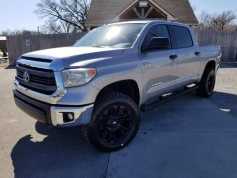 2014 Toyota Tundra for sale at Farha Used Cars in Wichita KS