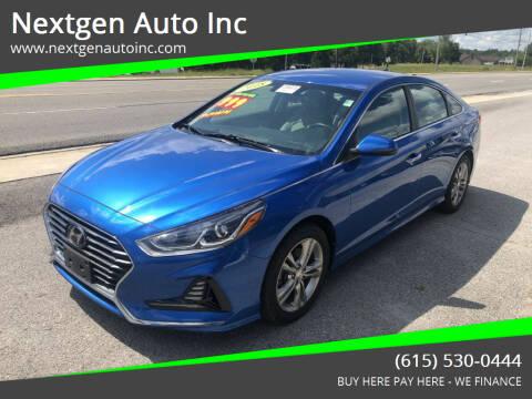 2018 Hyundai Sonata for sale at Nextgen Auto Inc in Smithville TN