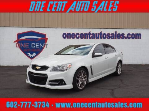 2014 Chevrolet SS for sale at One Cent Auto Sales in Glendale AZ
