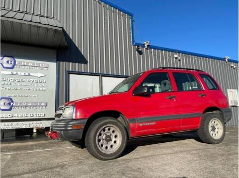 2002 Chevrolet Tracker for sale at Chehalis Auto Center in Chehalis WA
